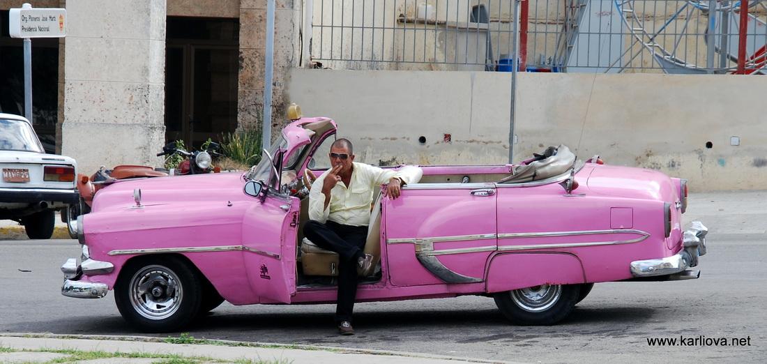 Küba'da Amerikan Arabaları