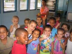 KreşHem öğretmenlerinin, hem de çocukların sıcak tavrı pek hoşumuza gitti.
