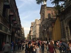 Mexico City sokakları