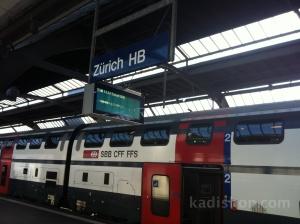 İsviçre Tren