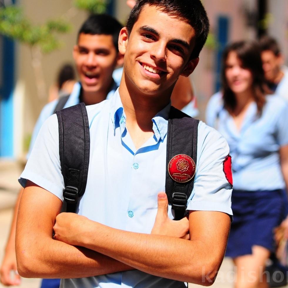 Kübalı öğrenci
