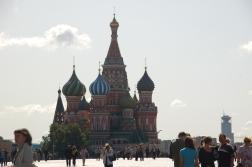 Kremlin'in Çarlık döneminden kalan rengarent binaları