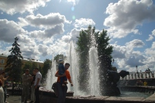 Moskova'da parklar çok büyük ve keyifli.