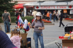 Moskova'da sık karşılaşabileceğiniz seyyar satıcılardan.