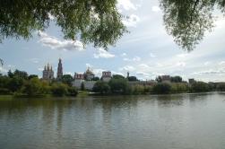 Moskova'nın banliyöleri de güzel manzaralar sunuyor.