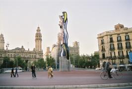 The Face of Barcelona, Roy Lichtenstein