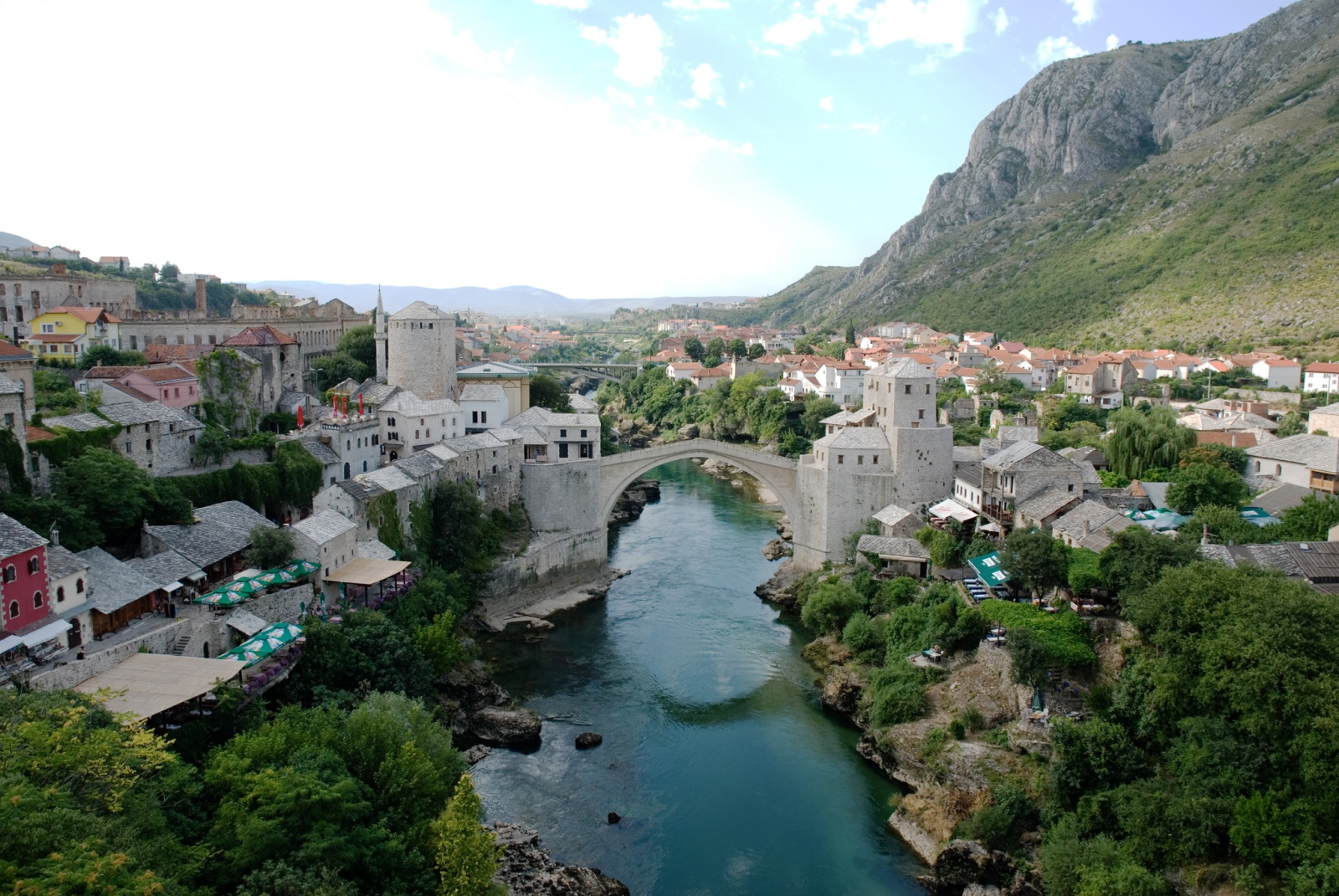 Mostar_Old_Town_Panorama by vikipedi
