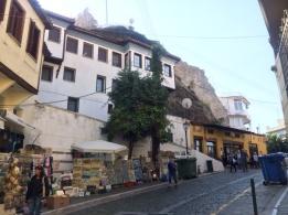 Kavala Akropoli. Surlarla çevrili eski şehir merkezi. Foto: Onur