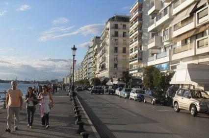 Selanik kordon. Foto: komsudaneoluyor