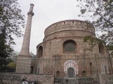 Romalılar tarafından mozole olarak inşa edilen, Bizanslılar tarafından kiliseye çevrilen Rotonda Kilisesi. Foto: gezelimgorelimbilelim